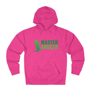 Master Angler Unisex Terry Hoodie Green Logo