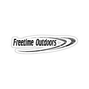 Freetime Outdoors Stickers Black & Black