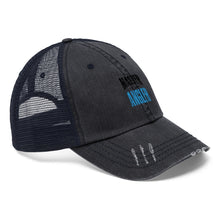 Load image into Gallery viewer, Michigan Master Angler Unisex Trucker Hat - Blue Logo