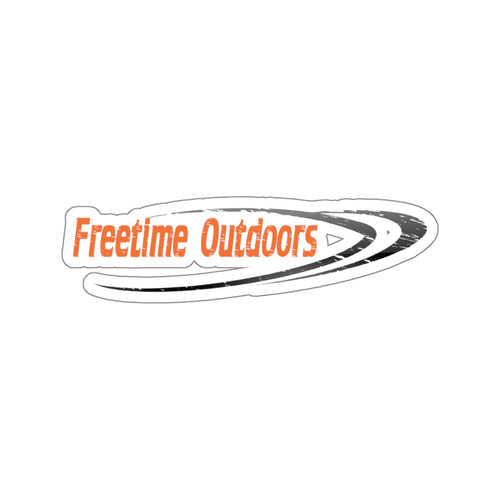 Freetime Outdoors Stickers Orange & Black