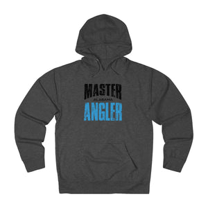 Alabama Master Angler Unisex Terry Hoodie Blue Sq