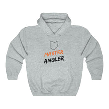 Load image into Gallery viewer, Ohio Master Angler Unisex Heavy Blend™ Hooded Sweatshirt -  State Orange