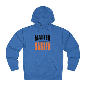 Alabama Master Angler Unisex Terry Hoodie Org Sq