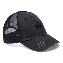Load image into Gallery viewer, Master Angler Unisex Trucker Hat Blue/Black