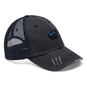 Master Angler Unisex Trucker Hat Blue/Black