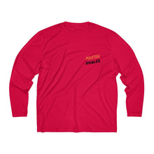 Load image into Gallery viewer, Master Angler Men's Long Sleeve Moisture Absorbing Tee - Org Sqr