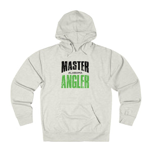 Alabama Master Angler Unisex Terry Hoodie Green Sq