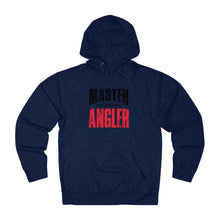 Load image into Gallery viewer, California Master Angler Unisex Terry Hoodie Red Sq