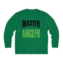 Load image into Gallery viewer, Michigan Master Angler Men's Long Sleeve Moisture Absorbing Tee - Green