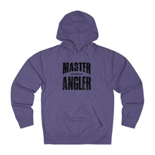 Load image into Gallery viewer, Kansas Master Angler Unisex Terry Hoodie Black Sq