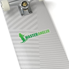 Load image into Gallery viewer, Master Angler Sticker Long - Green