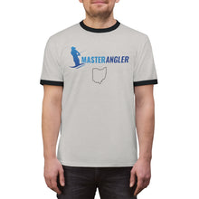 Load image into Gallery viewer, Ohio Master Angler Front & Back Unisex Ringer Tee