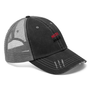 Master Angler Unisex Trucker Hat - Red Slash
