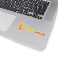 Load image into Gallery viewer, Master Angler Sticker Long - Orange