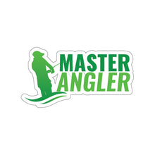 Load image into Gallery viewer, Master Angler Sticker - Green