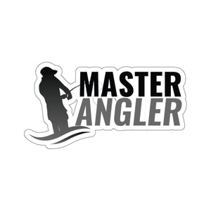Master Angler Sticker - Black