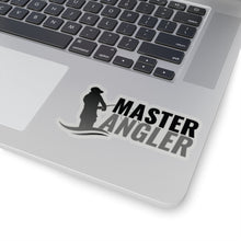 Load image into Gallery viewer, Master Angler Sticker - Black