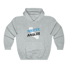 Load image into Gallery viewer, California Master Angler Unisex Heavy Blend™ Hooded Sweatshirt -  State Blue