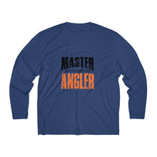 Load image into Gallery viewer, South Carolina Master Angler Men's Long Sleeve Moisture Absorbing Tee - Org Sqr