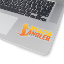 Load image into Gallery viewer, Master Angler Sticker - Orange