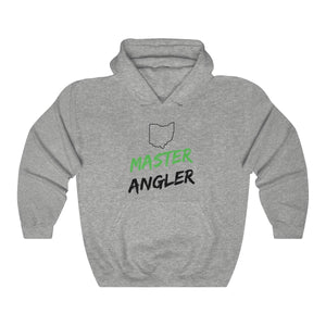 Ohio Master Angler Unisex Heavy Blend™ Hooded Sweatshirt -  State Green