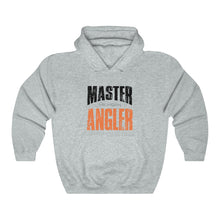 Load image into Gallery viewer, Michigan Master Angler Unisex Heavy Blend™ Hooded Sweatshirt - Orange