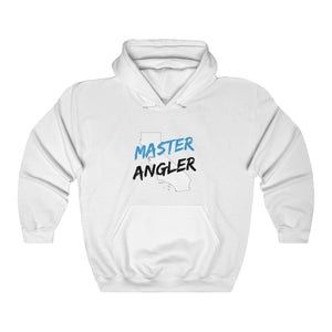 California Master Angler Unisex Heavy Blend™ Hooded Sweatshirt -  State Blue