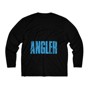 Michigan Master Angler Men's Long Sleeve Moisture Absorbing Tee - Blue