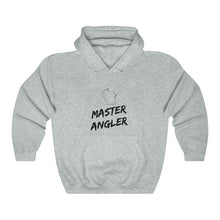 Load image into Gallery viewer, Wisconsin Master Angler Unisex Heavy Blend™ Hooded Sweatshirt -  State Black