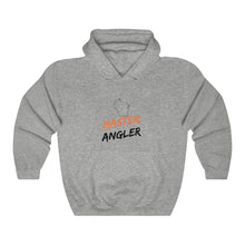 Load image into Gallery viewer, Wisconsin Master Angler Unisex Heavy Blend™ Hooded Sweatshirt -  State Orange