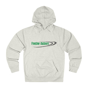 Freetime Outdoors Unisex Terry Hoodie - Green & Black