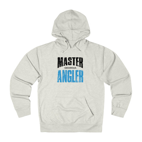 Georgia Master Angler Unisex Terry Hoodie Blue Sq