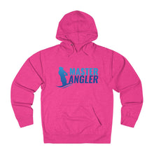 Load image into Gallery viewer, Master Angler Unisex Terry Hoodie Blue Logo