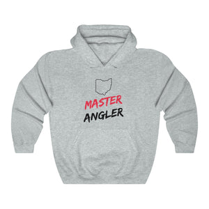 Ohio Master Angler Unisex Heavy Blend™ Hooded Sweatshirt -  State Red