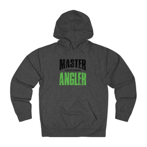 California Master Angler Unisex Terry Hoodie Green Sq