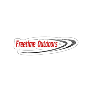Freetime Outdoors Stickers Red & Black