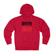 Load image into Gallery viewer, Illinois Master Angler Unisex Terry Hoodie Red Sq