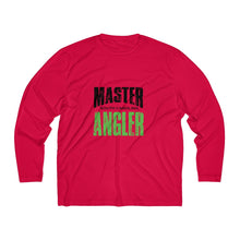 Load image into Gallery viewer, South Carolina Master Angler Men's Long Sleeve Moisture Absorbing Tee - Grn Sqr