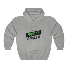Load image into Gallery viewer, Ohio Master Angler Unisex Heavy Blend™ Hooded Sweatshirt - Slash Green
