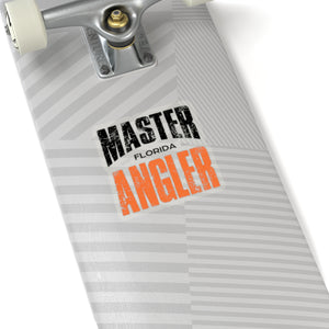 Florida Master Angler Sticker - ORANGE