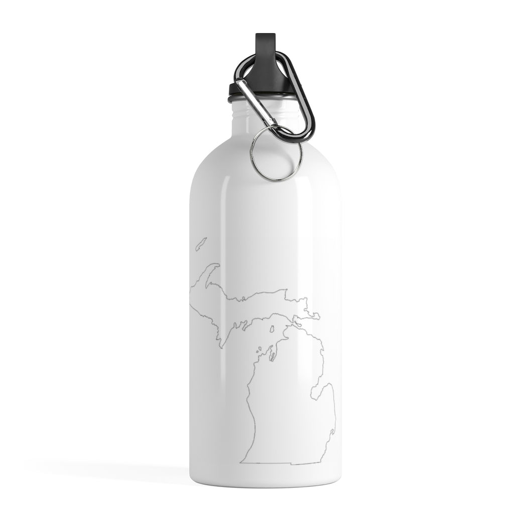 Michigan Stainless Steel Water Bottle