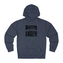 Load image into Gallery viewer, Michigan Master Angler Unisex Terry Hoodie Black Sq