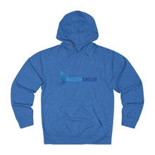 Load image into Gallery viewer, Master Angler Unisex Terry Hoodie Blue Long Logo