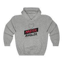 Load image into Gallery viewer, Ohio Master Angler Unisex Heavy Blend™ Hooded Sweatshirt - Slash Red