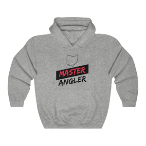 Ohio Master Angler Unisex Heavy Blend™ Hooded Sweatshirt - Slash Red