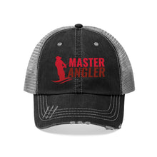 Load image into Gallery viewer, Master Angler Unisex Trucker Hat - Red Logo