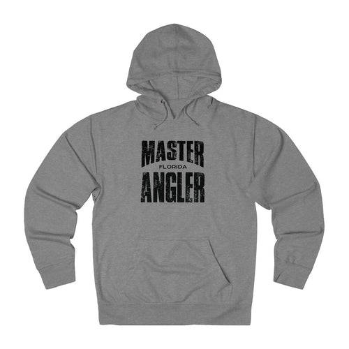 Florida Master Angler Unisex Terry Hoodie Black Sq