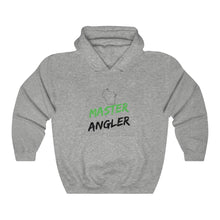 Load image into Gallery viewer, Wisconsin Master Angler Unisex Heavy Blend™ Hooded Sweatshirt -  State Green