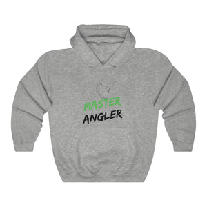 Wisconsin Master Angler Unisex Heavy Blend™ Hooded Sweatshirt -  State Green