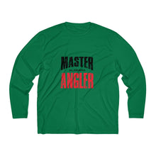 Load image into Gallery viewer, Alabama Master Angler Men's Long Sleeve Moisture Absorbing Tee - Red Sqr